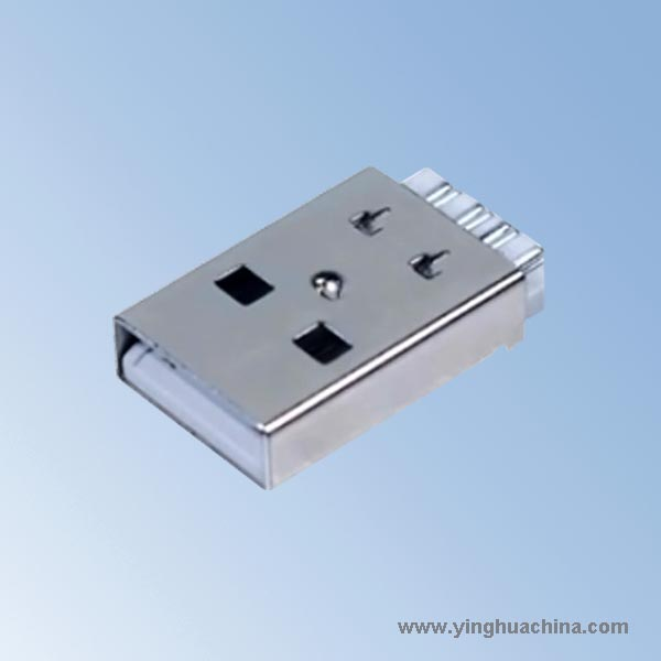 2.0USB Connector A Type Male - Wire Soldering Type - Short Body or ...