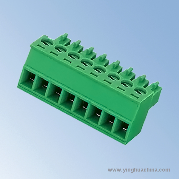 Pluggable terminal block Connector - 3 5 3 81 Pitch Female - No