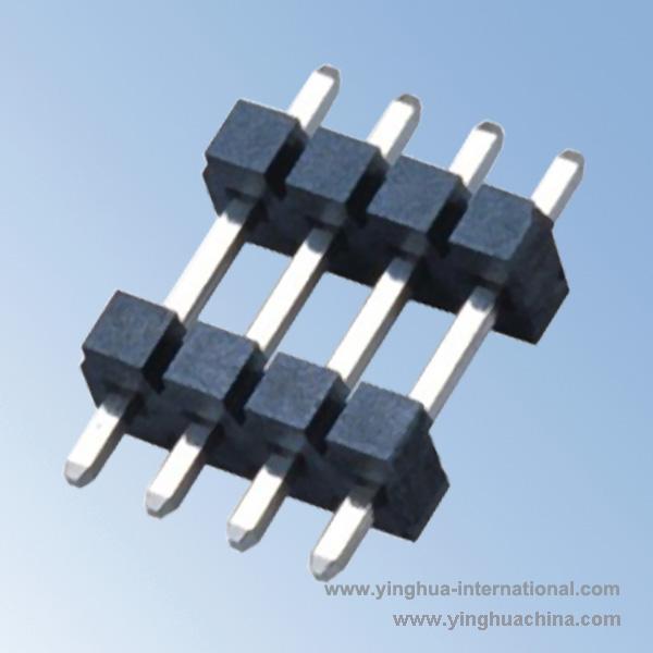 3.96mm Pin Header - H3.2 Single Row Dual plastic Straight DIP - No.Y01932-21S-DIP-XP-3.96mm 5 ...