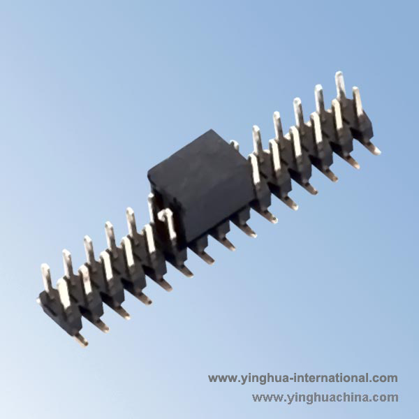 SMT 2.0 Pin Headers - H:1.5 Dual Rows - No.Y01315-12M-SMT-XP-Plastic Height 1.5mm/4.0mm ...