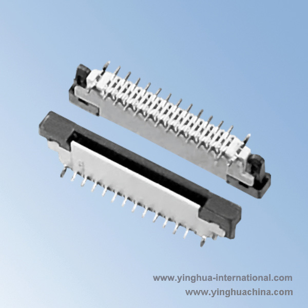 0.5 PH Vertical Reverse Contact - SMT type FPC Connector - No.3942-0.5K-C-nPBF-FPC Connector ...