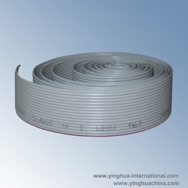 1.27 AWG26 UL2651 Flat Cable - P/N: HP-XP-26AWG-7/0.16TS-1.27-Flat ribbon cable-Connectors ...